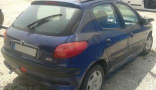 Peças Peugeot 206 1.1 de 1998