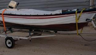 Barco com Reboque (Motor 7,5CV)